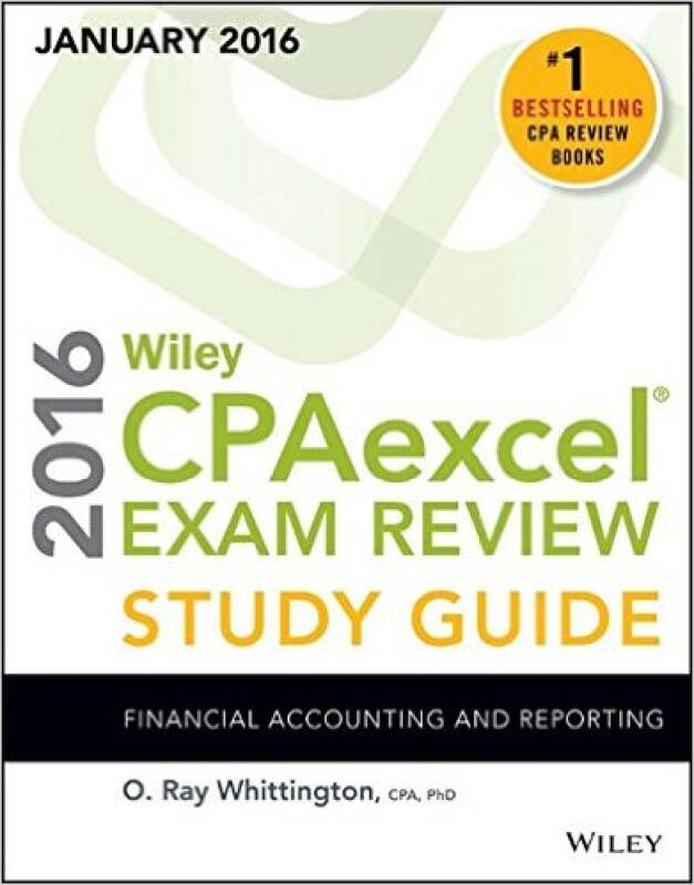 Wiley Cpaexcel Exam Review Study Guide January: Financial Accounting And Reporting