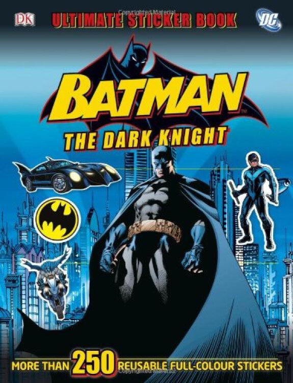 BatmantheDarkKnightUltimateStickerBook