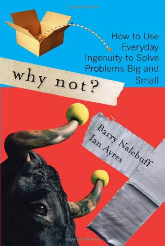 Why Not?: How to Use Everyday Ingenuity to Solve Problems Big And Small