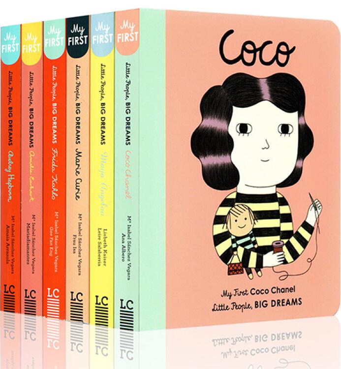 LittlePeopleBigDreams小人物大梦想系列6册