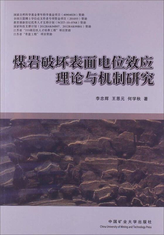煤岩破坏表面电位效应理论与机制研究