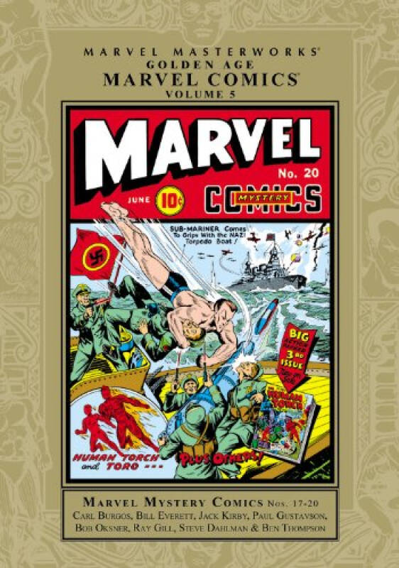 Golden Age Marvel Comics, Volume 5 (Marvel Masterworks (Unnumbered))