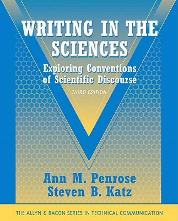 WritingInTheSciences:ExploringConventionsOfScientificDiscourse