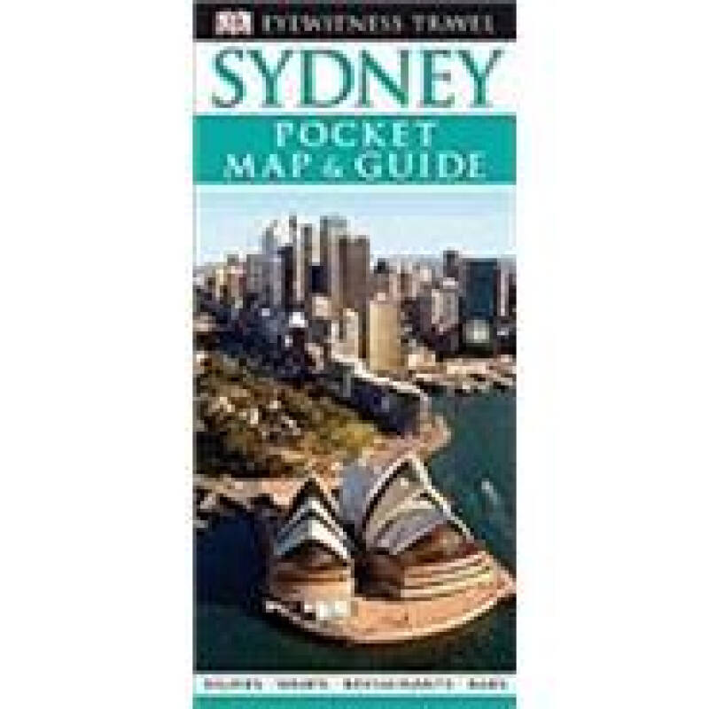 DK Eyewitness Pocket Map and Guide: Sydney