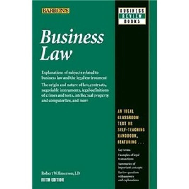 Business Law: 5th Edition (Business Review Series)