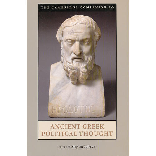 The Cambridge Companion to Ancient Greek Political Thought