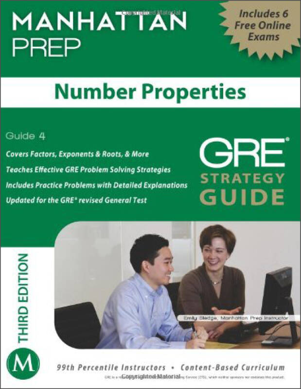 Number Properties GRE Strategy Guide, 3rd Edition (Manhattan Prep Strategy Guides)