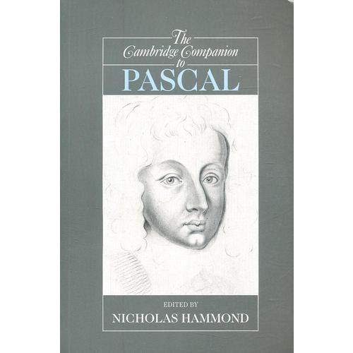 The Cambridge Companion to Pascal
