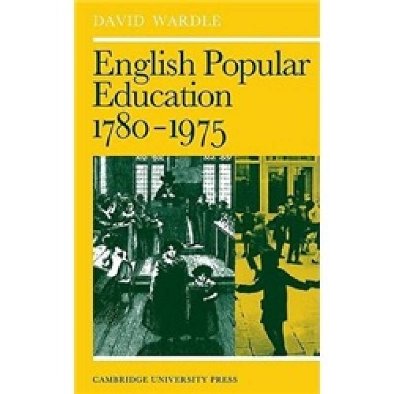 English Popular Education 1780–1975