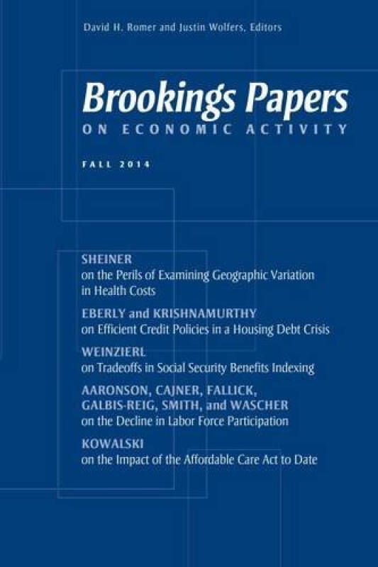 Brookings Papers on Economic Activity: Fall 2014