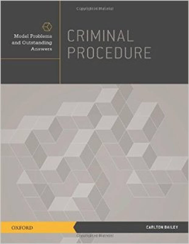 Criminal Procedure: Model Problems and Outstandi