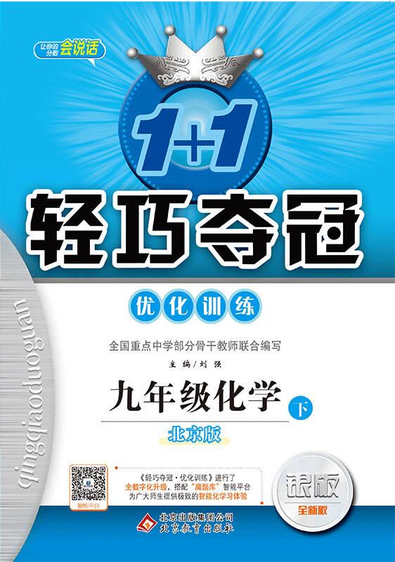 1+1轻巧夺冠·优化训练:九年级化学(下)·北京版 2018春