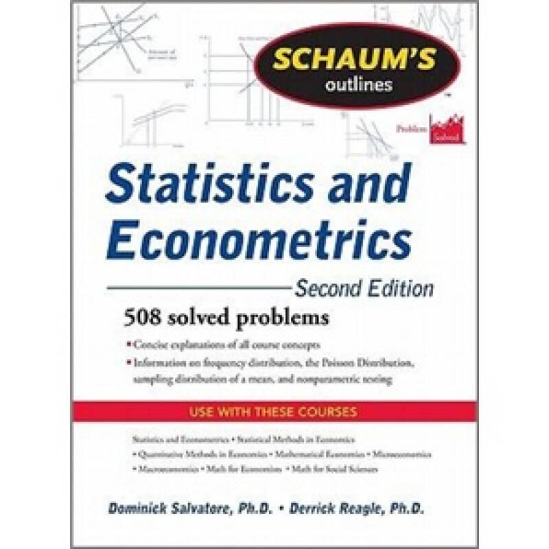 Schaums Outline of Statistics and Econometrics, Second Edition (Schaums Outline Series)