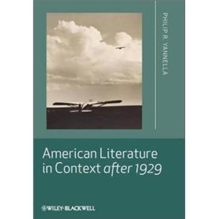 AmericanLiteratureinContextafter1929