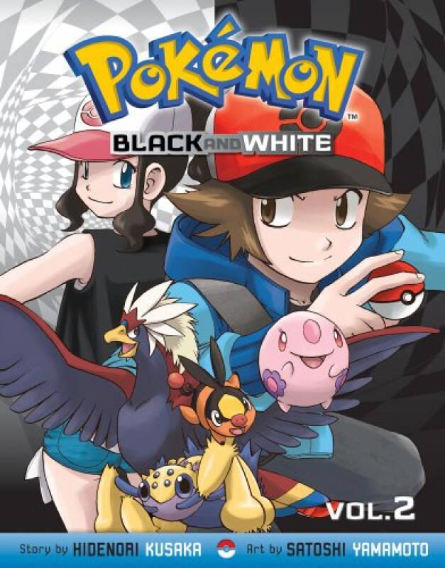 Pokemon Black and White, Vol. 2[口袋妖怪:黑白,第二卷]