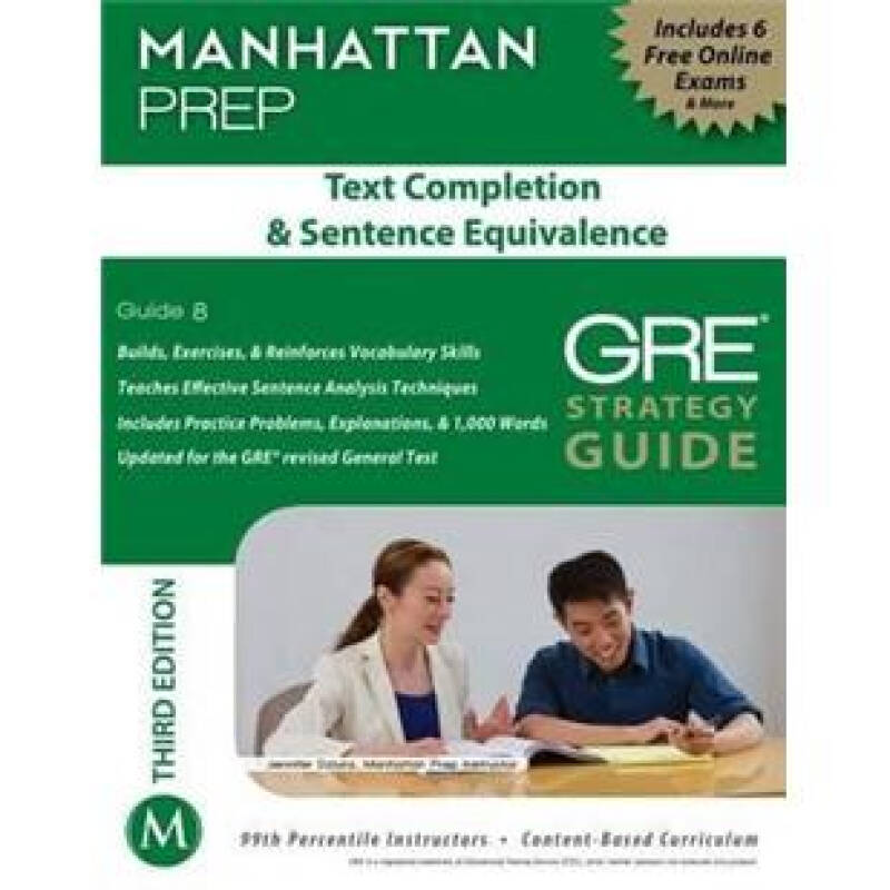 Text Completion & Sentence Equivalence GRE Strategy Guide, 3rd Edition