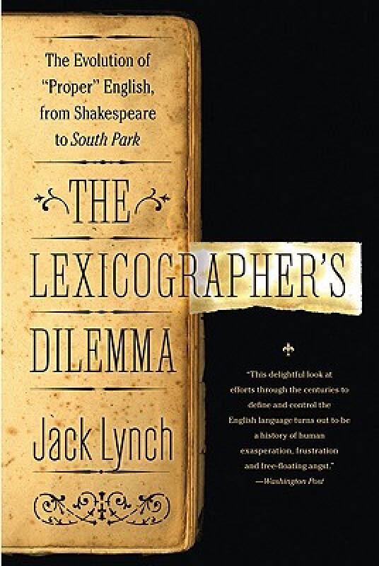 The Lexicographers Dilemma: The Evolution of