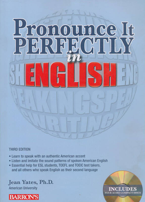 Pronounce it Perfectly in English (Book + CD)