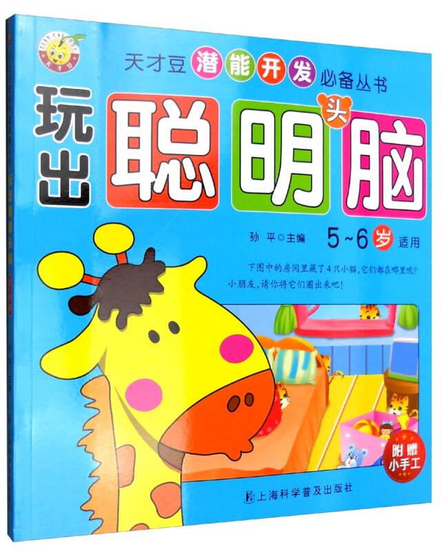 天才豆潜能开发必备丛书:玩出聪明头脑(5-6岁)