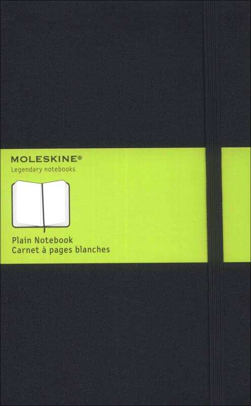 Moleskine Plain Notebook Large