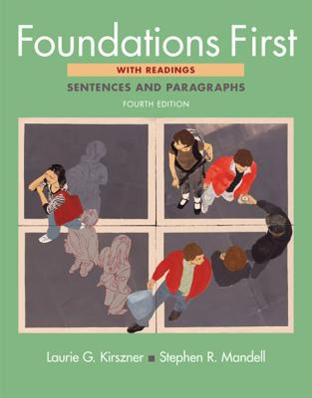 Foundations First: Sentences and Paragraphs with Readings