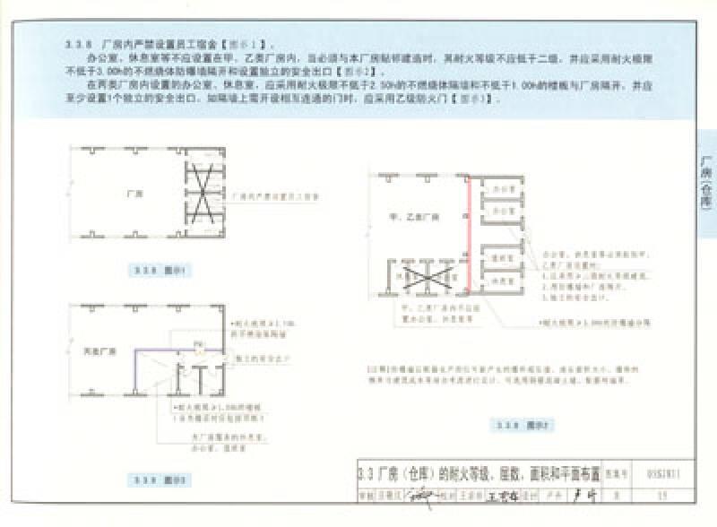 《建筑设计防火规范》图示:国家建筑标准设计图集 05sj811图片
