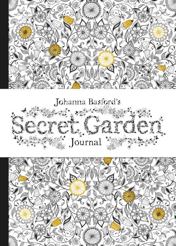 Johanna Basfords Secret Garden Journal 乔汉娜·贝斯福的秘密花园日志
