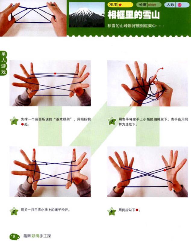 翻绳基本步骤图