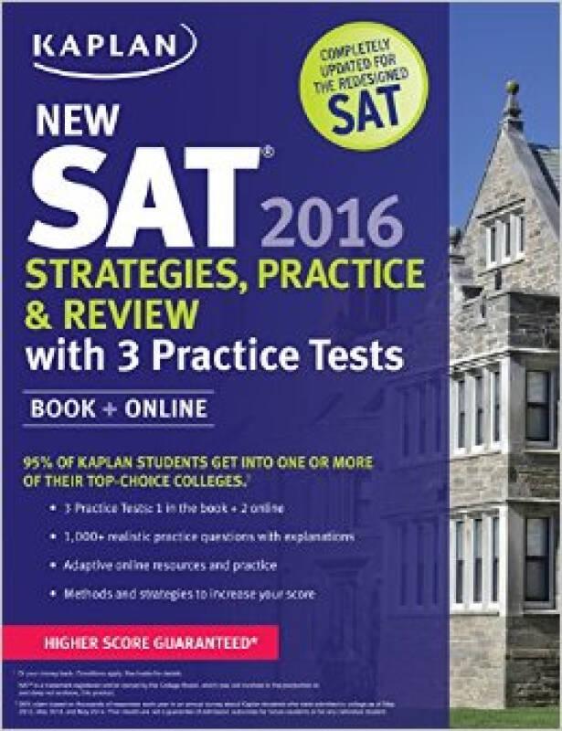 Kaplan New SAT 2016 Strategies, Practice and Rev