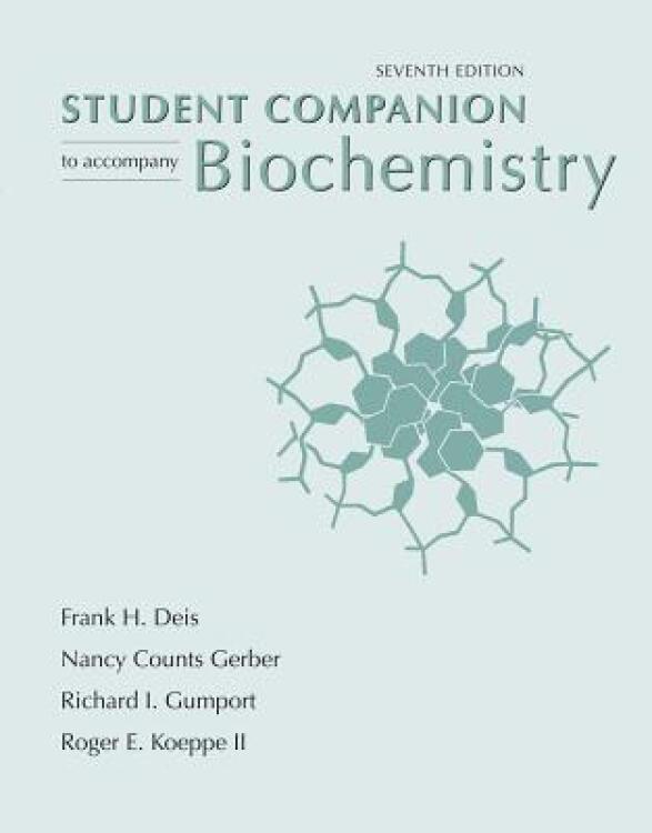 StudentCompaniontoAccompanyBiochemistry