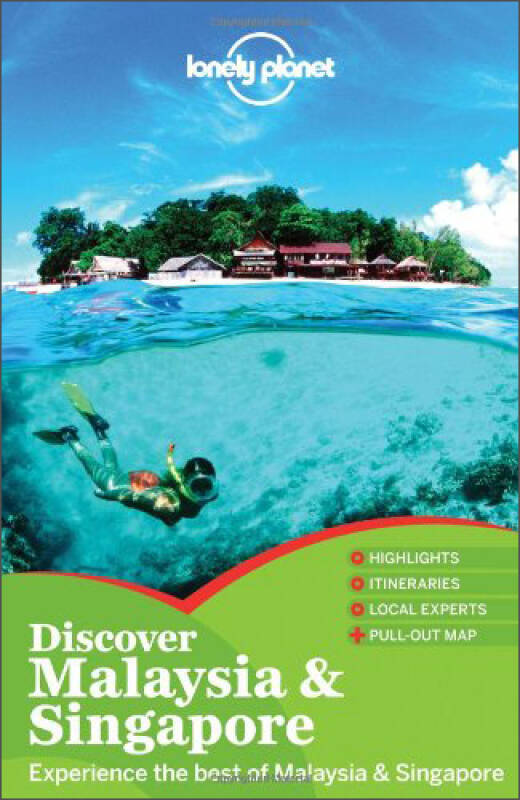 Discover Malaysia & Singapore (Lonely Planet Discover Country)孤独星球:马来西亚和新加坡