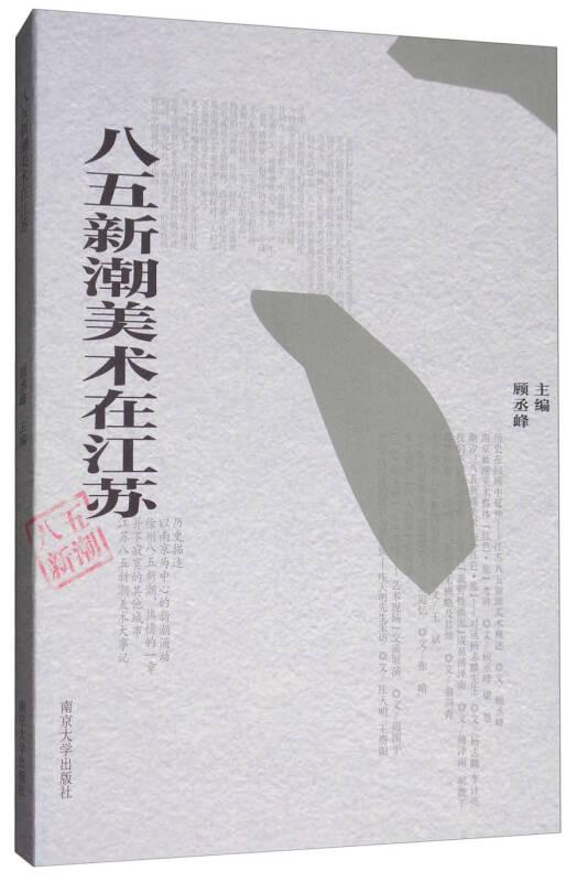 八五新潮美术在江苏