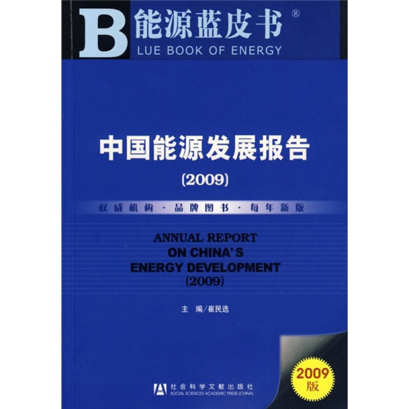 中国能源发展报告2009