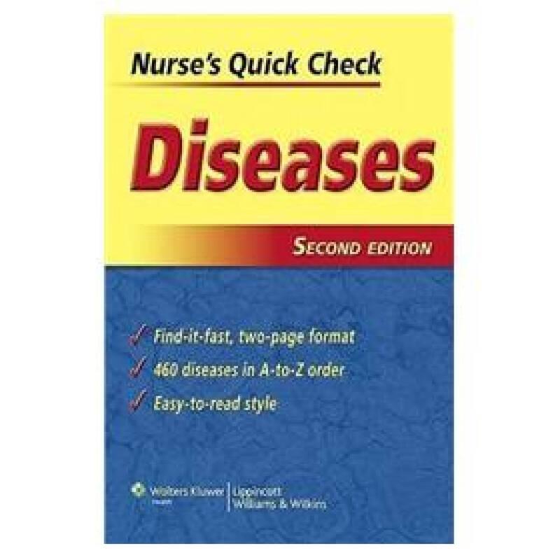 Nurses Quick Check: Diseases[护士速查:疾病]