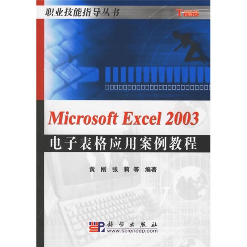 Microsoft Excel2003电子表格应用案例教程