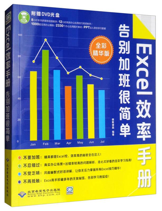 Excel效率手册:告别加班很简单(全彩精华版 附光盘)