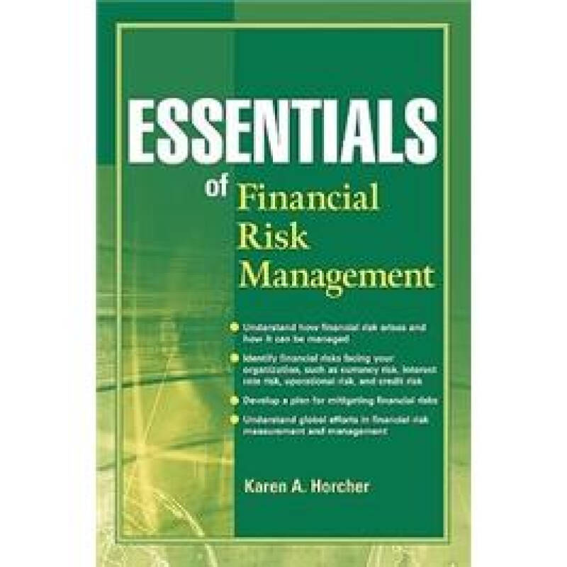 Essentials of Financial Risk Management (Essentials Series)