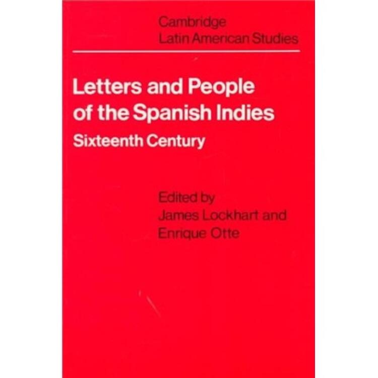 LettersandPeopleoftheSpanishIndies
