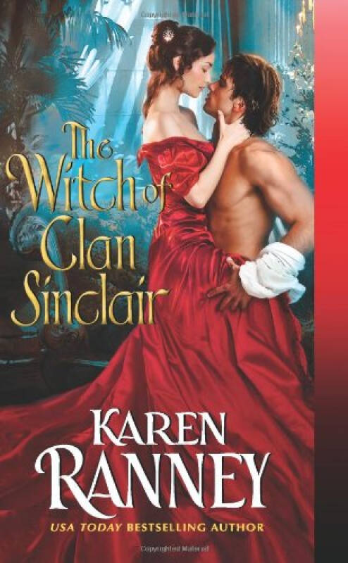 The Witch of Clan Sinclair [Mass Market Paperback]