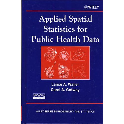 Applied spatial statistics for public health data公共卫生数据应用空间分析