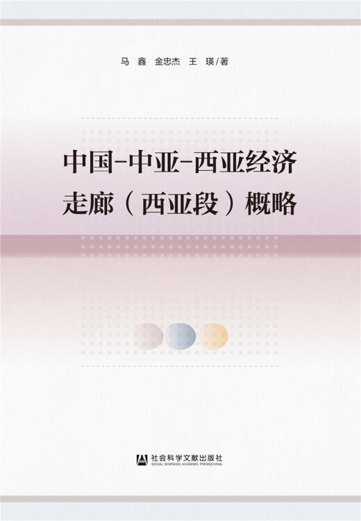 中国-中亚-西亚经济走廊(西亚段)概略