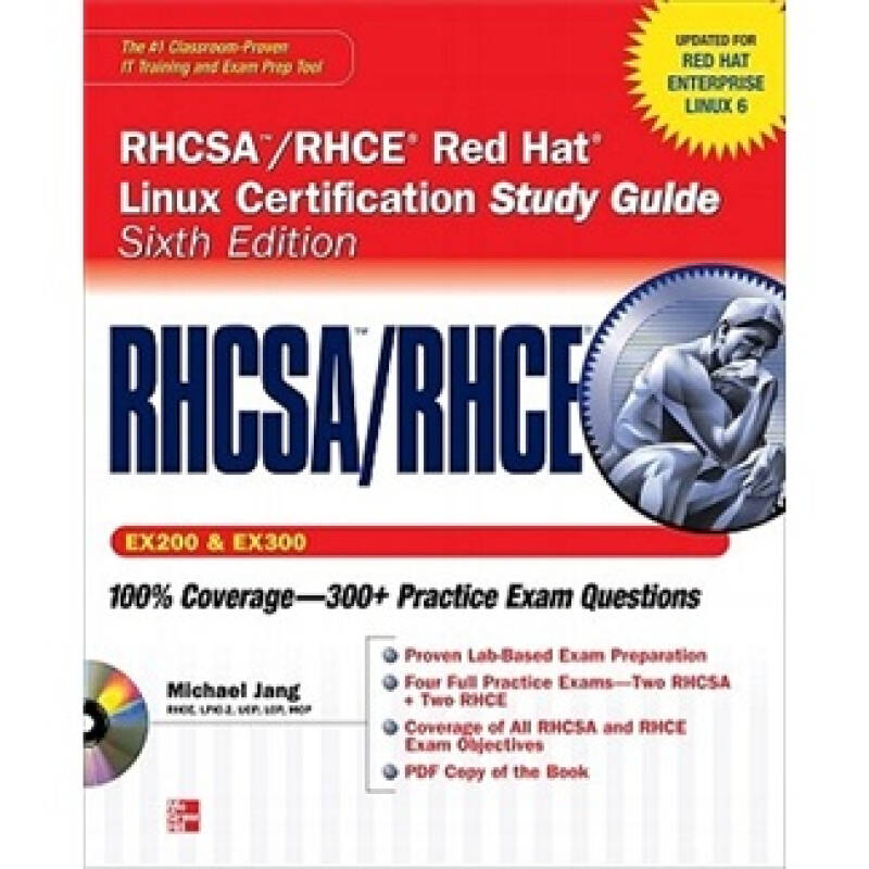 RHCSA/RHCE Red Hat Linux Certification Study Guide (Exams EX200 & EX300), 6th Edition