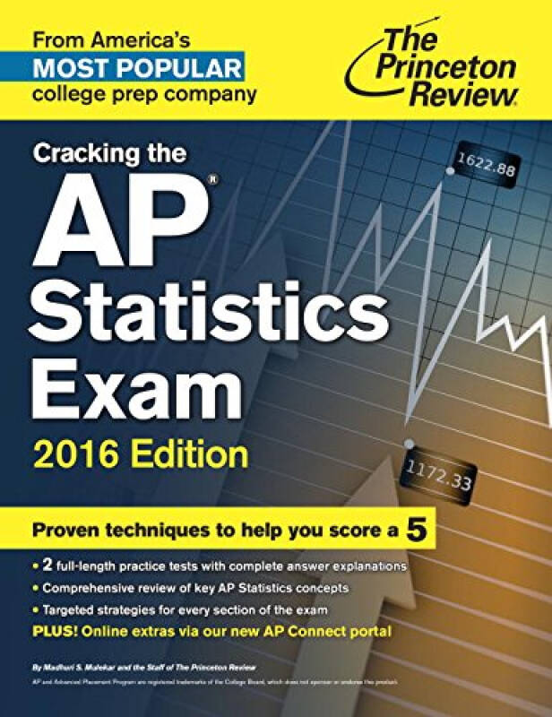 Cracking the AP Statistics Exam, 2016 Edition