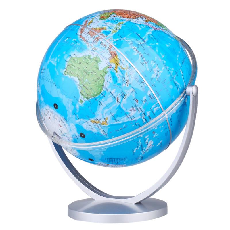 博目地球仪:20cm中文政区地球仪(倾角万向支架)11-20-23