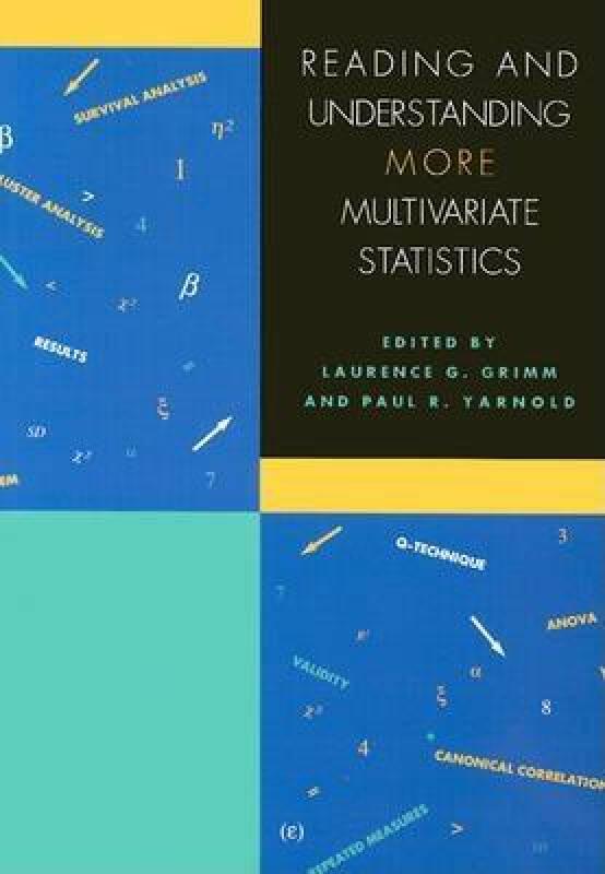 Reading and Understanding More Multivariate Statistics: