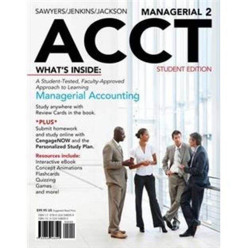 Managerial ACCT2 (Managerial Accounting)