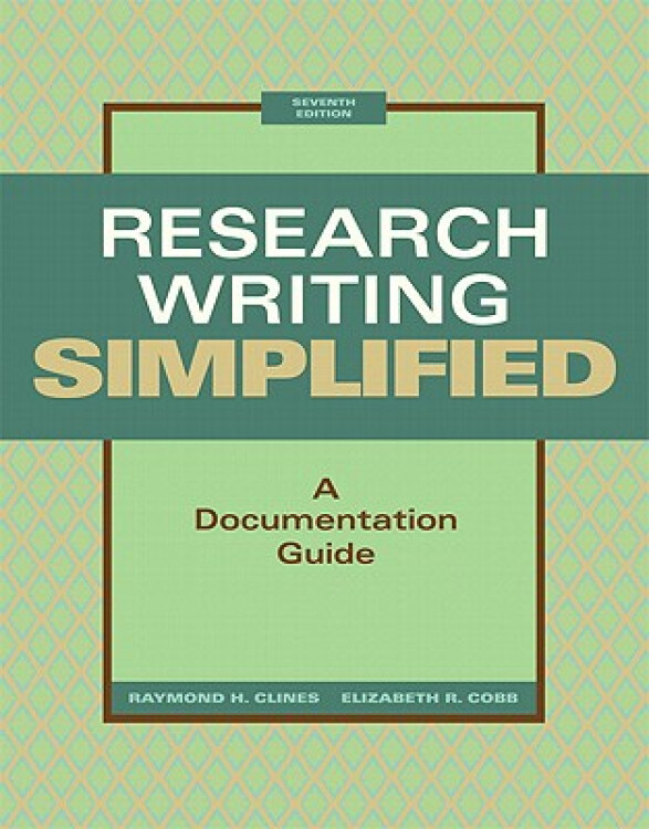 ResearchWritingSimplified:ADocumentationGuide