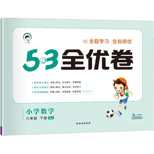 53天天练同步试卷 53全优卷 小学数学 六年级下 SJ(苏教版)2019年春
