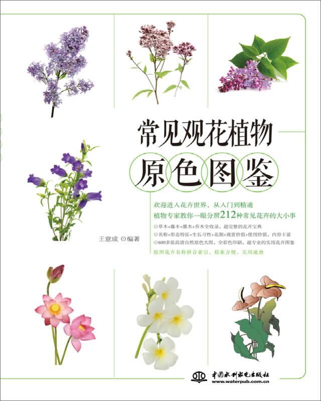 常见观花植物原色图鉴