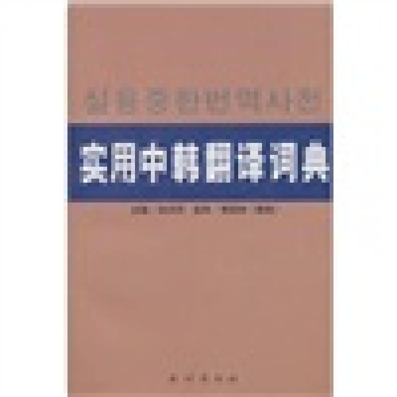 实用中韩翻译词典